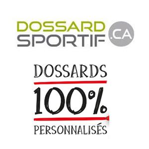 Dossard sportif